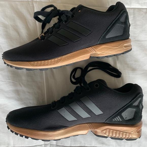 Adidas Zx Flux Torsion Black Rose Gold